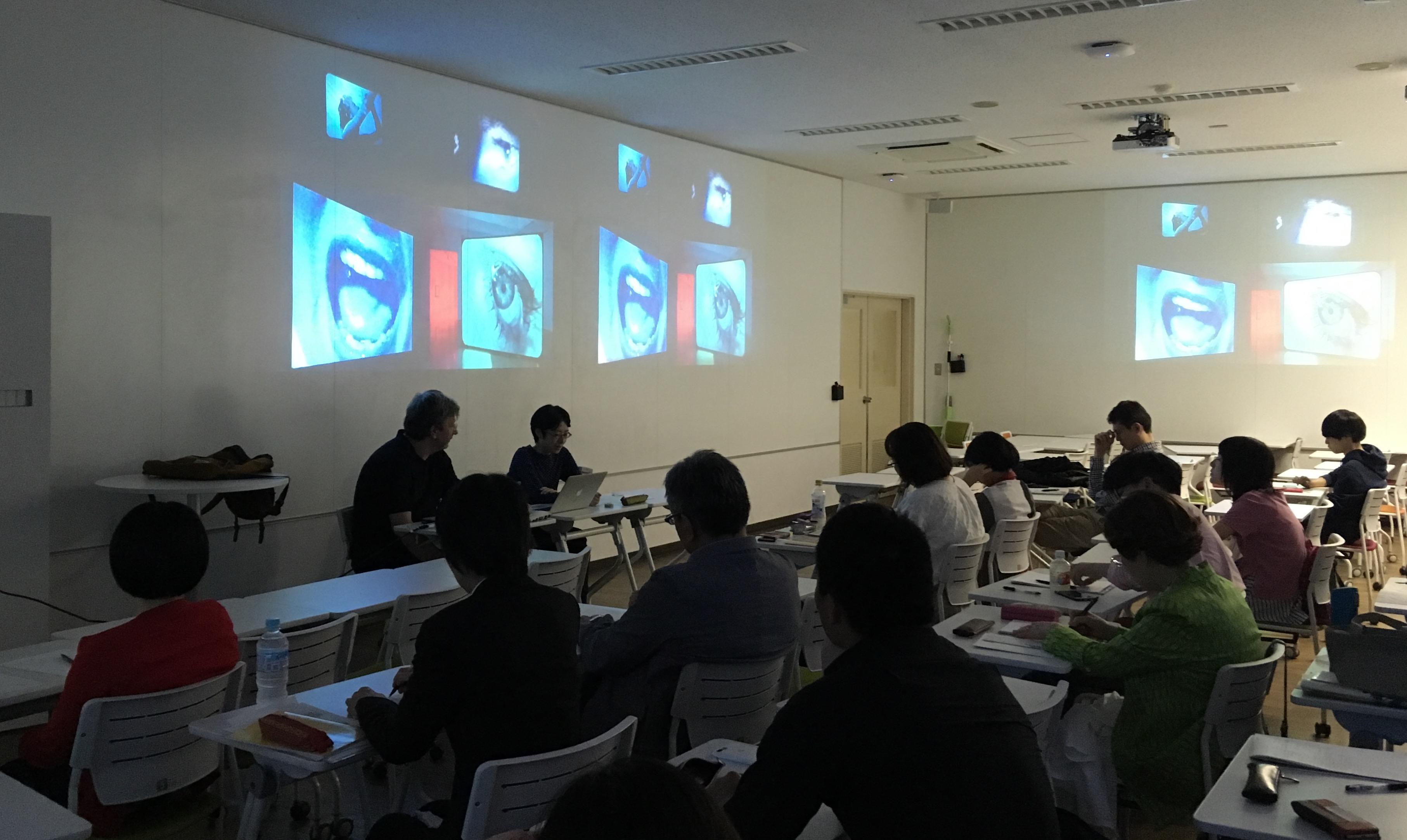 連続公開セミナー「展示の映画」および国際ワークショップ「イメージと時間」.JPG